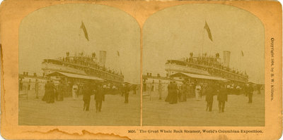 The Great Whale Back Steamer, World's Columbian Exposition