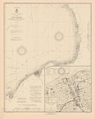 Lake Ontario Coast Chart No. 2. Stony Point to Little Sodus Bay. 1926