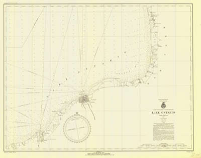 Lake Ontario Coast Chart No. 2. 1935