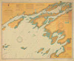 Lake Ontario Coast Chart No. 1. Round Island to Stony Point and South Bay Point. 1909