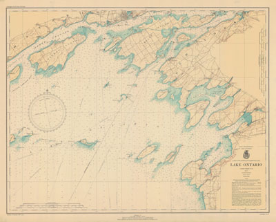 Lake Ontario Coast Chart No. 21. 1937