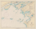Lake Ontario  Clayton to Stony Point N.Y. including Kingston to Sandhurst, Ont. Coast Chart No. 21. 1940
