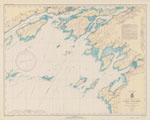 Lake Ontario  Clayton to Stony Point N.Y. including Kingston to Sandhurst, Ont. Coast Chart No. 21. 1940