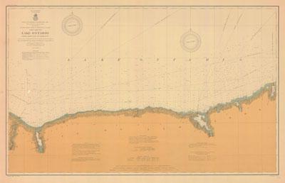 Lake Ontario Coast Chart No. 3. Little Sodus Bay to Charlotte. 1906