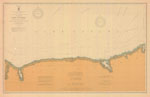 Lake Ontario Coast Chart No. 3. Little Sodus Bay to Charlotte. 1906