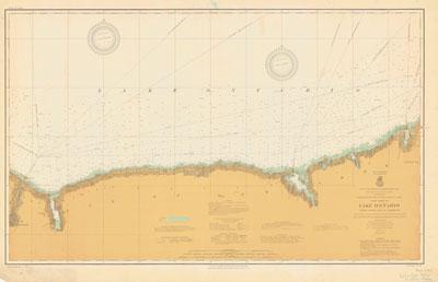 Lake Ontario Coast Chart No. 3. Little Sodus Bay to Charlotte. 1913