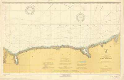 Lake Ontario Coast Chart No. 3. Little  Sodus Bay to Charlotte. 1919