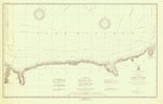 Lake Ontario Coast Chart No. 3. Little  Sodus Bay to Charlotte. 1924