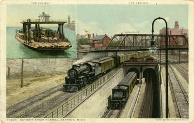 Detroit River Tunnel, Detroit, Mich.