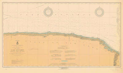 Lake Ontario Coast Chart No. 4. Charlotte to Thirty Mile Point. 1919
