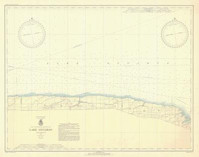 Lake Ontario Coast Chart No. 24, 1937