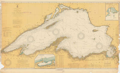 General Chart of Lake Superior. 1917