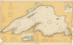 General Chart of Lake Superior. 1917