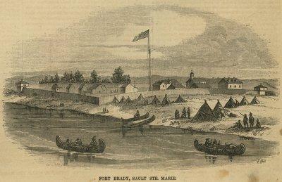 Fort Brady, Sault Ste. Marie.