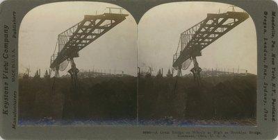 A Great Bridge on Wheels as High as Brooklyn Bridge, Conneaut, Ohio, U.S.A