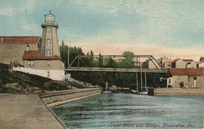 Light House and Bridge, Kincardine, Ont.