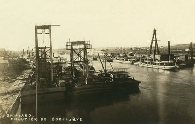 Shipyard, Chautier de Sorel, Que