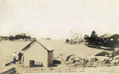 Harbor entrance, Point au Baril, Ont.