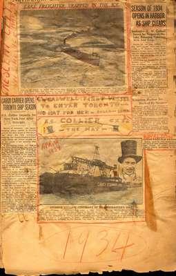 Brookes Scrapbooks, 1934-37