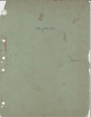 Brookes Scrapbooks, 1938