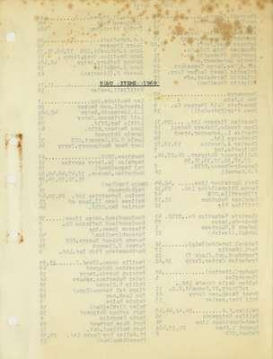 Brookes Scrapbooks, 1969