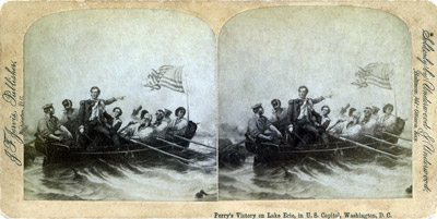Perry's Victory on Lake Erie, in U. S. Capitol Washington, D. C.