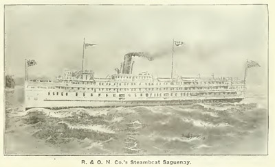 The R. & O. N. Co's Steamboat Saguenay