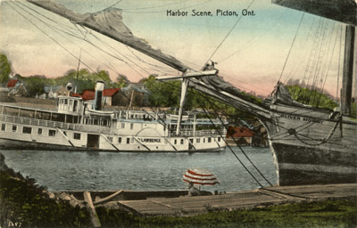 Harbor Scene, Picton, Ont.