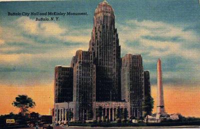 Buffalo City Hall and McKinley Monument, Buffalo, N.Y.