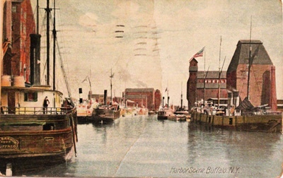 Harbor Scene, Buffalo N.Y.