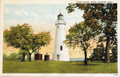 Light House, Near Lakeside, Ohio