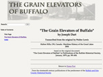 &quot;The Grain Elevators of Buffalo&quot;