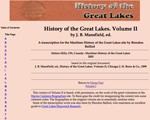 History of the Great Lakes. Volume II