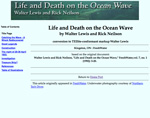Life and Death on the Ocean Wave