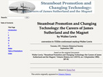 Steamboat Promotion and Changing Technology: the Careers of James Sutherland and the Magnet