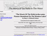 The Wreck Of The Walk-in-the-water, ...