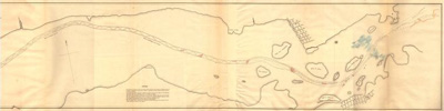 Division 4. Survey of a portion of the River St. Lawrence between Pointe au Diable and Pointe au Moulin, including the Cedar Rapids.