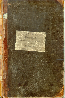 J. W. Hall Scrapbook