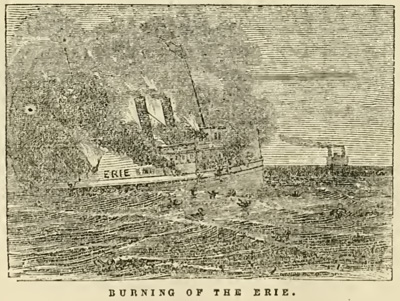 Burning of the Erie