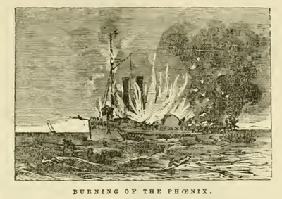 Burning of the Phoenix