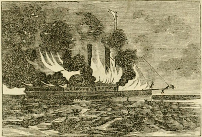 Burning of the G. P. Griffith