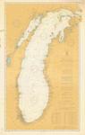 General Chart of Lake Michigan. 1906