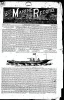 Marine Record (Cleveland, OH1883), March 10, 1883