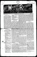 Marine Record (Cleveland, OH1883), June 16, 1883