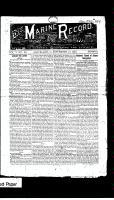 Marine Record (Cleveland, OH1883), September 27, 1883