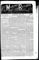 Marine Record (Cleveland, OH1883), May 1, 1884
