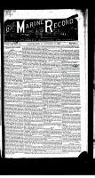Marine Record (Cleveland, OH1883), October 15, 1885