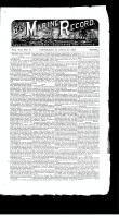 Marine Record (Cleveland, OH), April 29, 1886