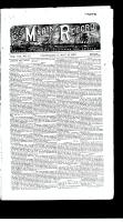 Marine Record (Cleveland, OH), May 13, 1886
