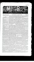 Marine Record (Cleveland, OH), July 15, 1886